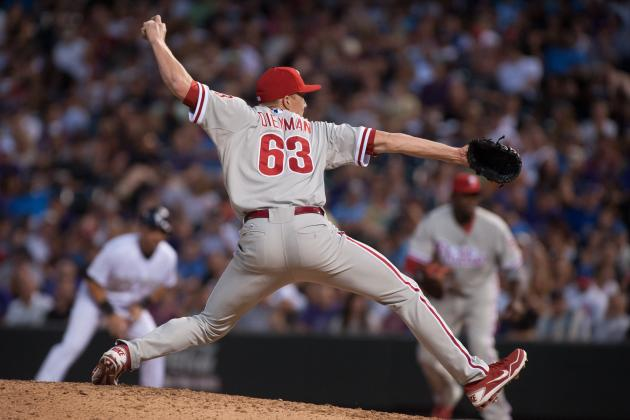 Phillies Call Up Diekman, Option Cloyd