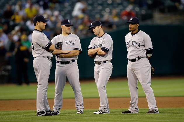Yankees Banged-Up Lineup May Not Snap out of This
