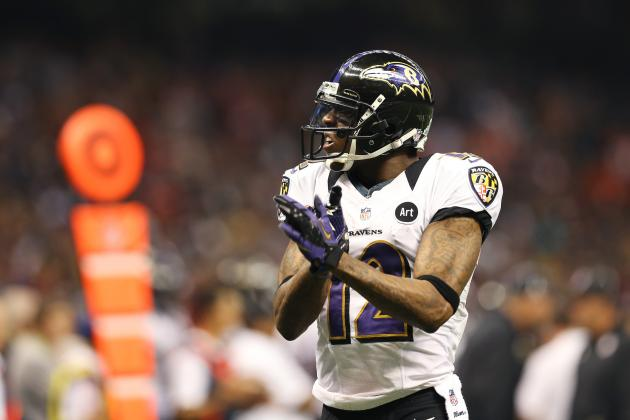 Jacoby Jones Is No. 2 on WR Depth Chart