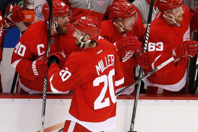 Report: Red Wings Sign Miller to 3-Year Deal
