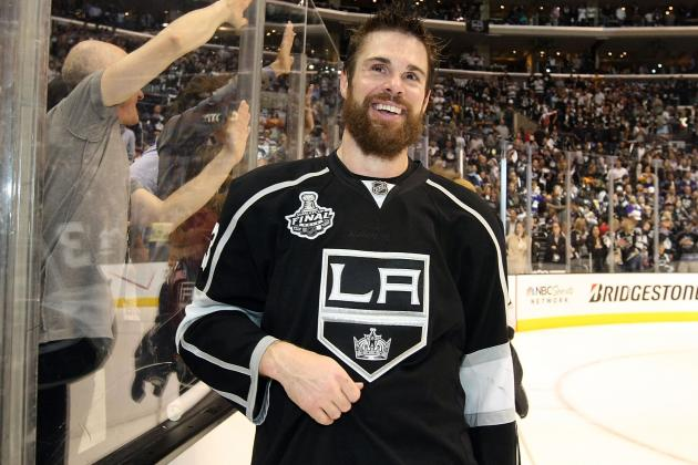 Kings' Mitchell (Knee) Resumes Skating, Tweets Evidence 'for Some Doubters'