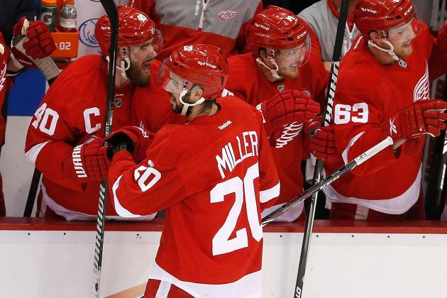 Report: Red Wings Re-Sign Miller to Three-Year Deal