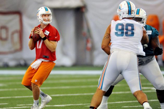 Tannehill Making Plays as Mini Camp Concludes