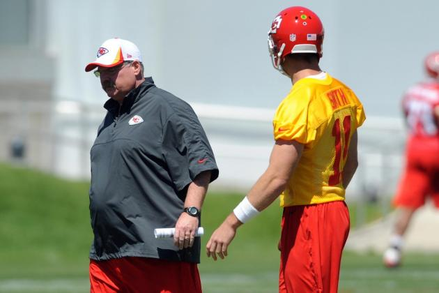Andy Reid: 'You've Got to Kick Alex (Smith) out of the Building'