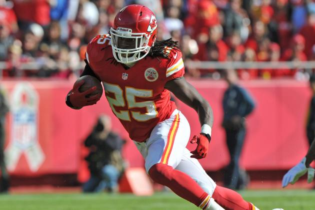 Kansas City Chiefs: Can Jamaal Charles Be the Franchise's Rushing Leader?