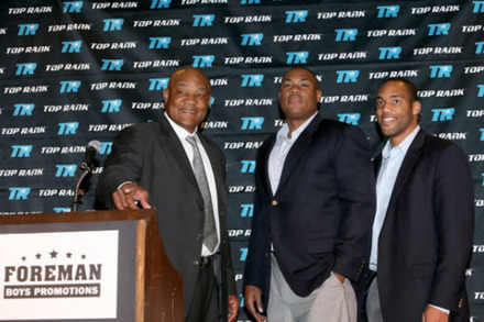 George Foreman: 40 Years After Frazier, a Legend Returns to Boxing in a New Role