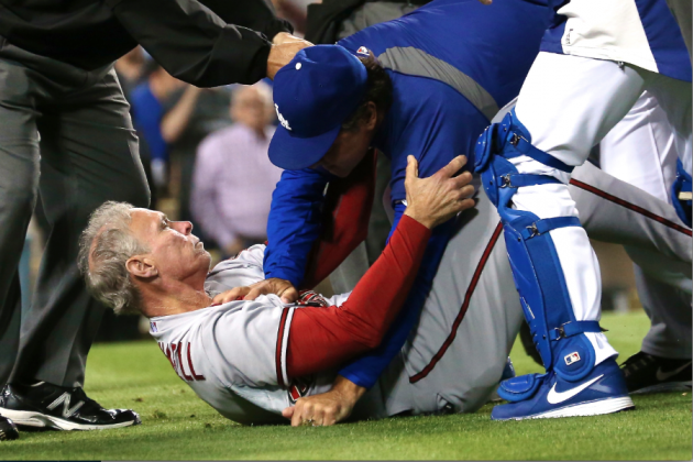 MLB Suspends 8, Disciplines 12 for Diamondbacks-Dodgers Brawl