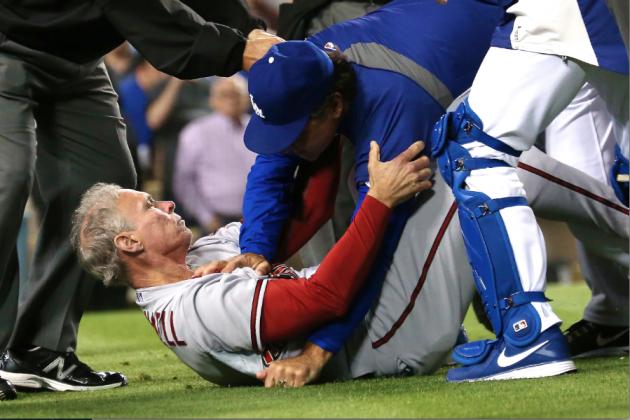 MLB Suspends 8, Disciplines 12 for Diamondbacks-Dodgers Brawl