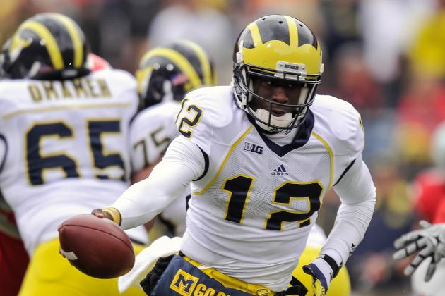Michigan's Devin Gardner Reminds Al Borges of NFL Star Robert Griffin III