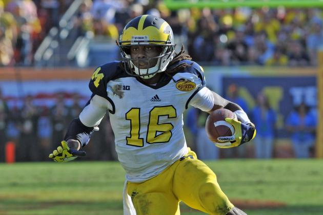 Denard Tells Eddie Lacey His Secret for Surviving Cold Weather Football