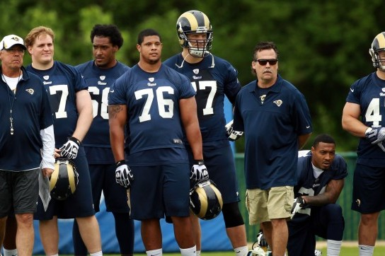 Jake Long Settles in with Rams