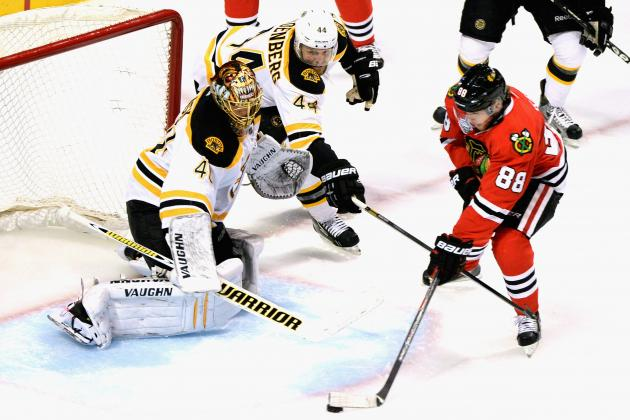 2013 Stanley Cup Final: Did Game 1 Rattle Boston Bruins Goalie Tuukka Rask?