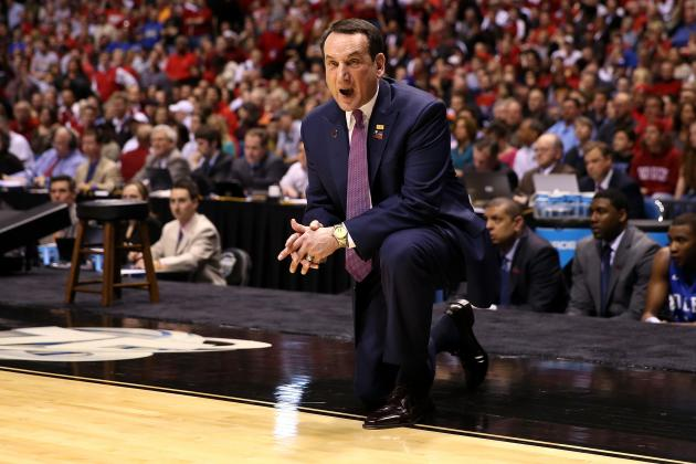 Coach K Receives Enberg Award