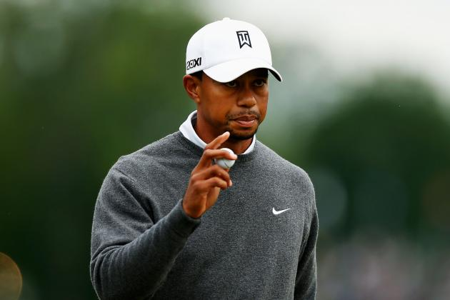 Tiger Woods Still In Contention at 2013 US Open Despite Rocky Start