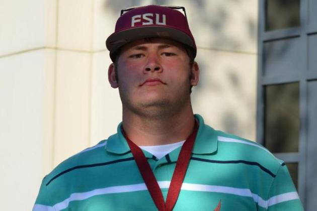 Ethan Frith Commits to Florida State: Noles Land Offensive Tackle Recruit