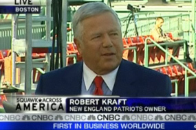 Kraft talks Tebow with CNBC