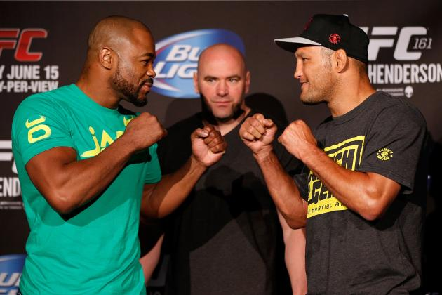 UFC 161 Weigh in Results: Evans vs. Henderson Fight Card