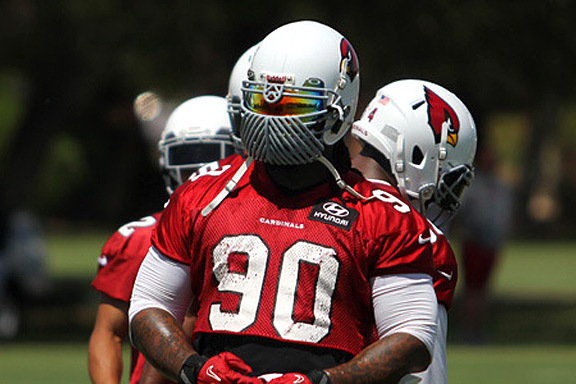 Dockett and His Terrifying New Facemask Love Inflicting Pain