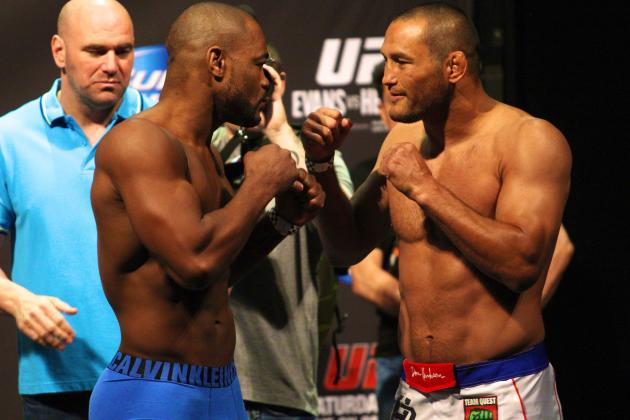 UFC 161: Rashad Evans vs Dan Henderson Weight Results and Preview