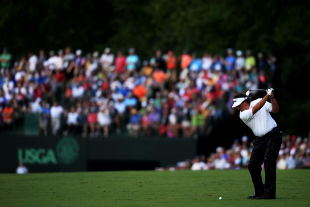 US Open Golf 2013: Updated Betting Tips for Day 3 Action Following Day 2 Results