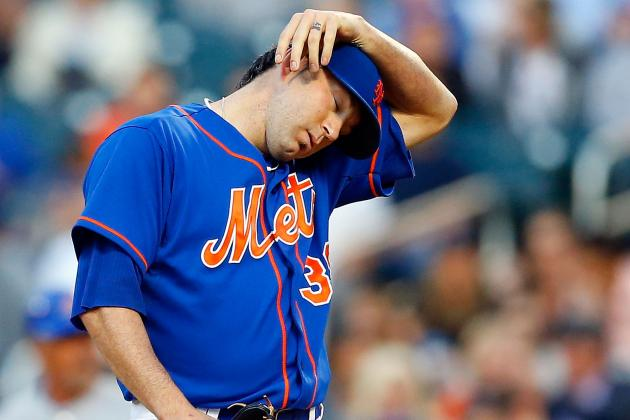 Shaun Marcum Lit Up for Six Runs in Mets Loss to Cubs