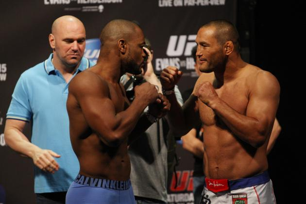 Evans vs. Henderson: Last-Minute Predictions for Main Event