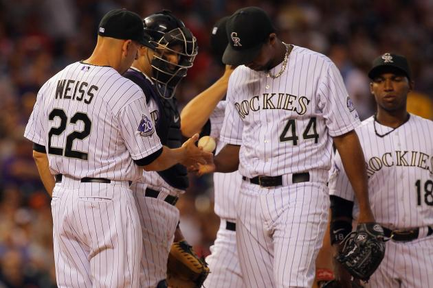 Rockies Fall to Phillies After Pitchers Falter and Blow Five-Run Lead