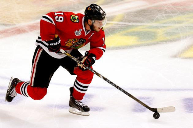Will Jonathan Toews' Selke Trophy Affect His Play in Stanley Cup Final?