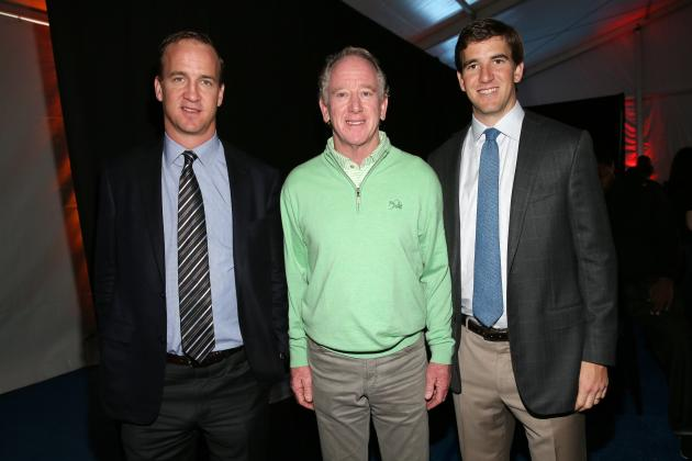 Manning, Harbaugh Learn from Sons, Too