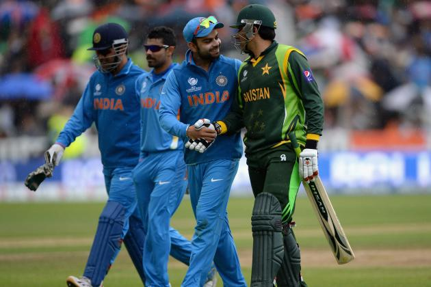 ICC Champions Trophy 2013: India vs. Pakistan Score, Points Table and More