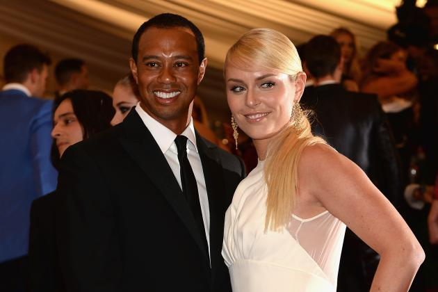 Lindsey Vonn Dishes on What It's Like to Date Tiger Woods