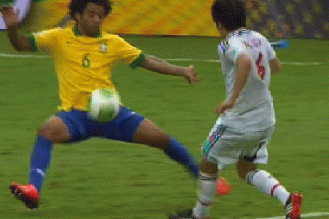 Marcelo Took a Soccer Ball Directly to the Groin in Very Painful Fashion