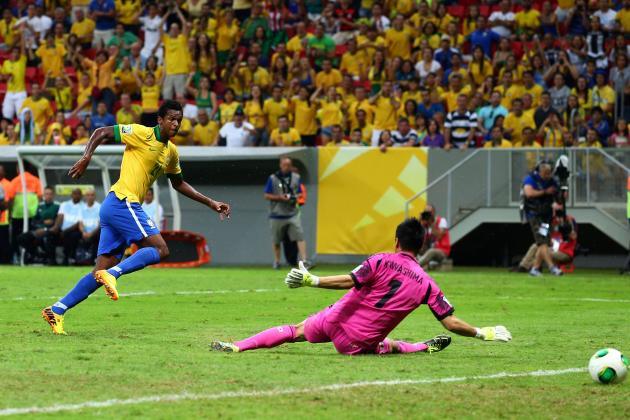 Brazil Sweep Japan Aside