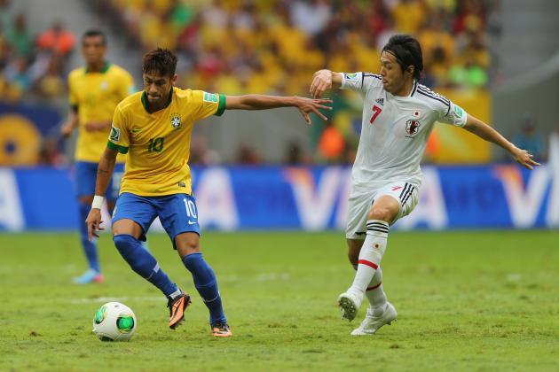 Confederations Cup 2013: Brazil 3, Japan 0