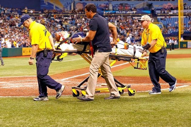 Alex Cobb Sustains Scary Head Injury After Being Hit with Line Drive
