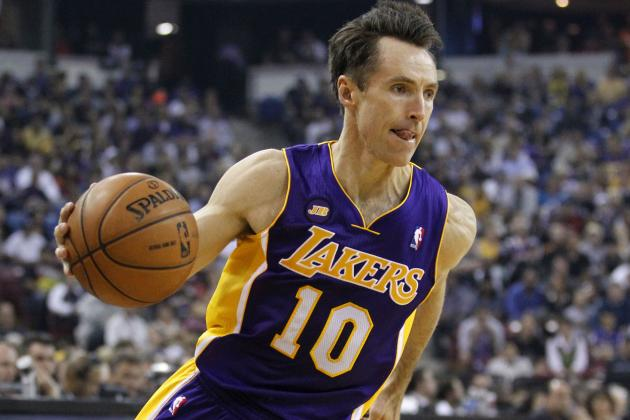 Could Los Angeles Lakers Turn Steve Nash into a Role Player?