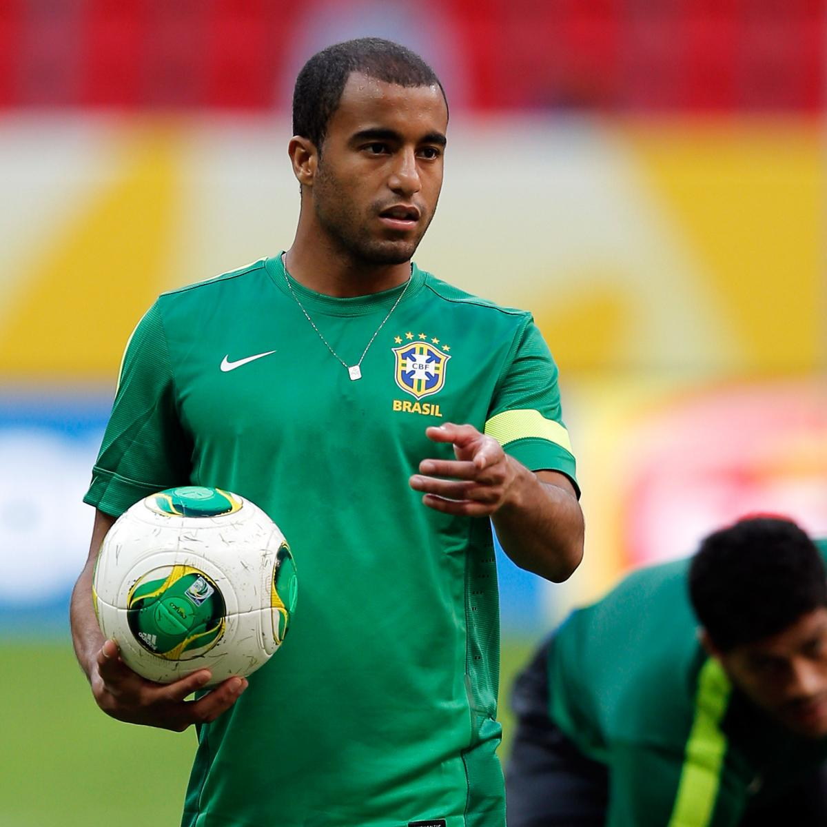 Lucas Moura Neymar: Confederations Cup 2013: Should Lucas Moura Replace Hulk