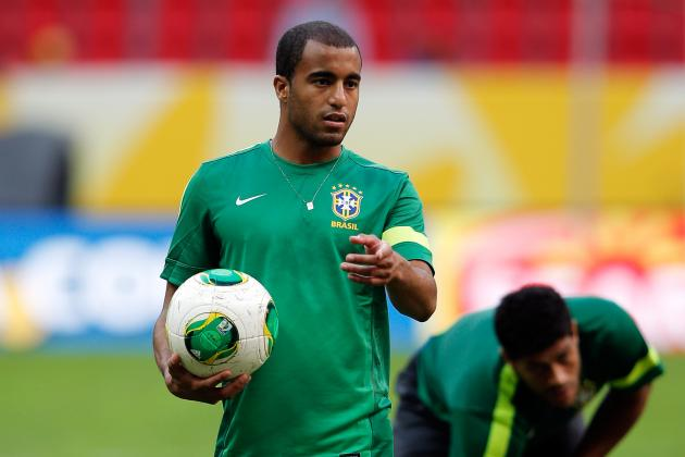 Confederations Cup 2013: Should Lucas Moura Replace Hulk for Brazil?