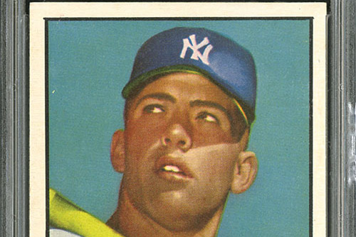 Thousands of Mickey Mantle's First Topps Cards Were Dumped into Ocean