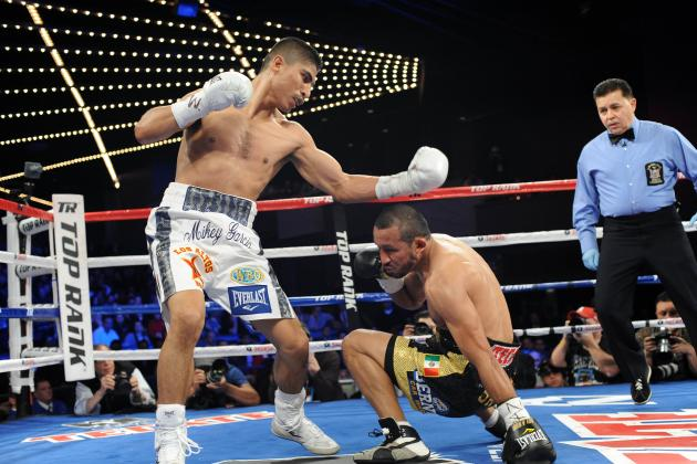 Mikey Garcia Dominates Juan Manuel Lopez, Wins by 4th-Round TKO