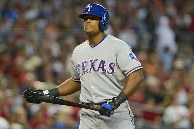 Rangers' Run Drought Ties Record in Fifth Straight Loss