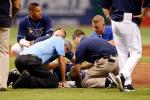 Rays' Cobb Discharged from Hospital After Line Drive to Head