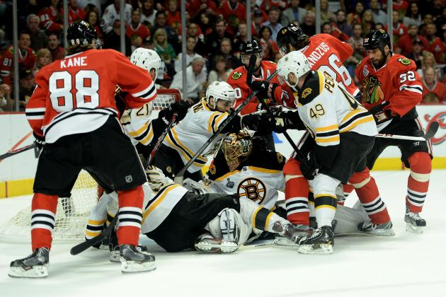 Stanley Cup Finals 2013: Chicago Blackhawks Lose 2-1 to Boston Bruins in Game 2