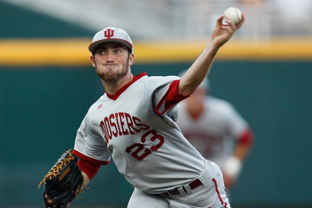 Indiana's DeNato Shuts Down Louisville with Complete-Game Shutout