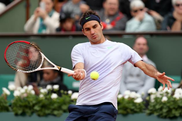 Roger Federer Defeats Mikhail Youzhny to Win First Title of 2013