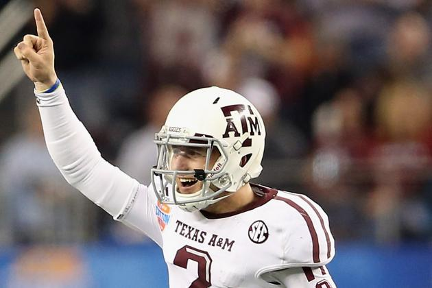 Johnny Manziel Hopes He's a Better Passer than Tim Tebow, and He Is