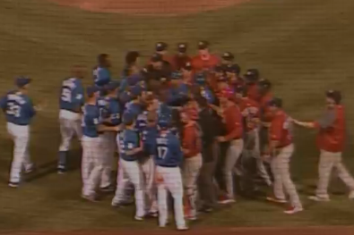 VIDEO: Dodgers Affiliate Involved in Minor League Benches-Clearing Brawl