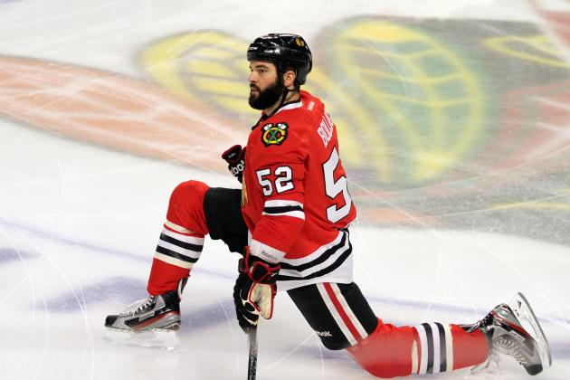 Chicago Blackhawks: Don't Blame Game 2 Loss on Brandon Bollig