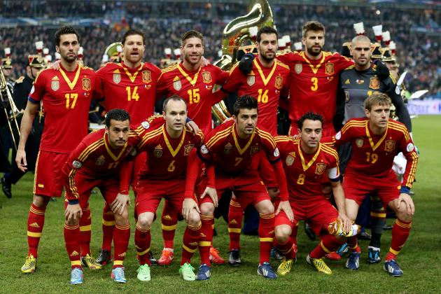 FIFA Confederations Cup 2013: Why Spain Is the Clear Favorite
