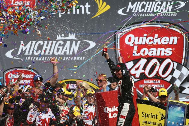 Quicken Loans 400 2013 Results: Reaction, Leaders and Post-Race Analysis